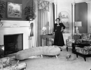 Joan Crawfordat home in Los AngelesC. 1949 - Image 0728_0090