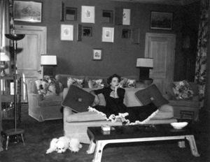 Joan Crawfordat home in Los AngelesC. 1949 - Image 0728_0907