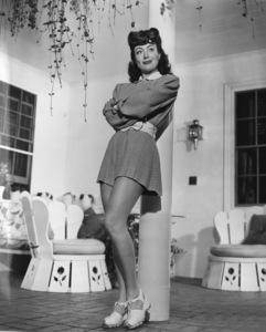 Joan Crawfordat home in Los AngelesC. 1945 - Image 0728_2021