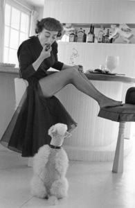 Joan Crawford at Homecirca 1954 © 1978 Sanford Roth - Image 0728_2148