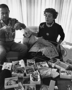 Joan Crawford at homecirca 1954© 1978 Sanford Roth / A.M.P.A.S. - Image 0728_2155