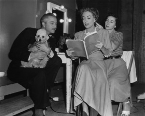 "Joan Crawford and Robert Young on the set of ""Goodbye, My Fancy""1951 - Image 0728_2203"