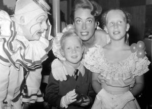 Joan Crawford, Christopher, and Christina.c. 1951.**I.V. - Image 0728_8293