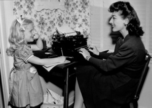 Joan Crawford and Christina, c. 1949.**I.V. - Image 0728_8300