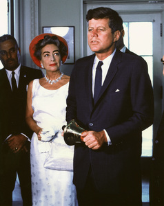 Joan Crawford with John F Kennedycirca 1961**I.V. - Image 0728_8328
