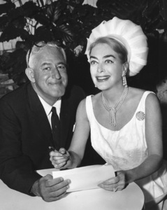 Joan Crawford with William Castle1964**I.V. - Image 0728_8331