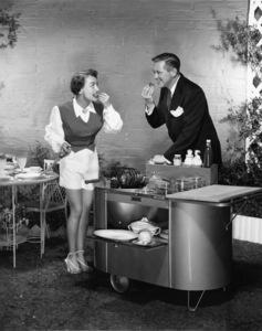 Joan Crawford and David Briancirca 1950Photo by Bert Six - Image 0728_8361