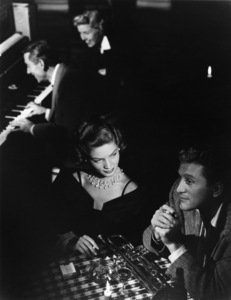 """Lauren Bacall with Kirk Douglas, Hoagy Carmichael and Doris Day in """"Young Man with a Horn""""1950 © 1978 John Engstead - Image 0730_0004"""