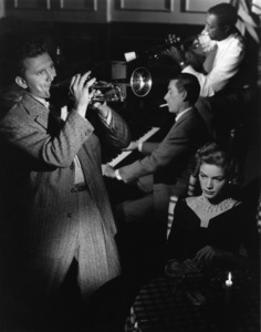 """Lauren Bacall with Kirk Douglas and Hoagy Carmichael in """"Young Man with a Horn""""1950 © 1978 John Engstead - Image 0730_0006"""