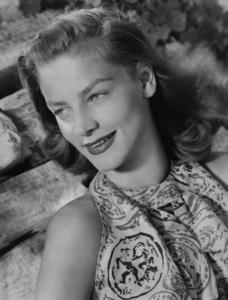 Lauren Bacallcirca 1942 - Image 0730_0093