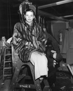 """Lauren Bacall on the set of""""The Big Sleep"""" 1946 Warner Bros. - Image 0730_0134"""