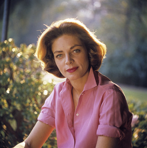 Lauren Bacall at home in Beverly Hills1958 © 1978 Bob Willoughby - Image 0730_0516