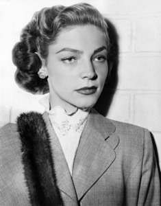"""Lauren Bacall in """"Young Man with a Horn""""1950 Warner Brothers** I.V. - Image 0730_0542"""