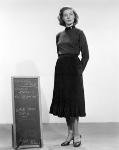 """Lauren Bacall in """"How to Marry a Millionaire""""1953 20th Century-Fox** B.D.M. - Image 0730_0559"""
