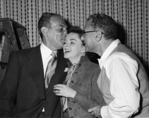 Judy Garland with director George Cukor1954Photo by Pat Clark - Image 0733_0012