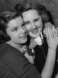 Judy Garland with mother Ethel Gummcirca 1936 - Image 0733_0082