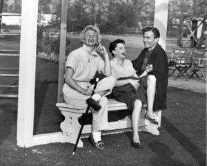 Doris Day, Judy Garland, James MasonFilm SetLucky Me (1954)Photo by Mac Julian - Image 0733_2006