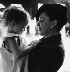 Judy Garland, daughter Lorna Luft © 1978 Bob Willoughby - Image 0733_2060
