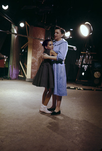 Liza Minnelli and Judy Garland during the taping of a CBS TV special1955© 1978 Bob Willoughby - Image 0733_2069