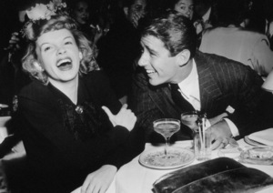 Judy Garland and Peter Lawford circa 1946 ** I.V. - Image 0733_2124