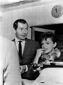Judy Garland with husband Mark Herronc. 1964**R.C. - Image 0733_2142