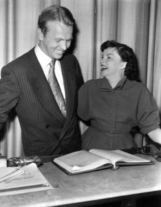 Judy GarlandFor CBS radio, 1955Photo by Gabi Rona - Image 0733_2167