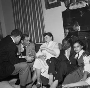 Judy Garland, Frank Sinatra and Sammy Davis Sr.circa 1950s © 1978 Bernie Abramson - Image 0733_2216