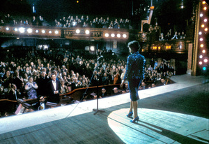 """Judy Garland on stage at the London Palladium when she was filming """"I Could Go on Singing"""" 1962 © 1978 Bob Willoughby  - Image 0733_2217"""