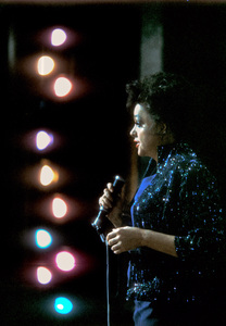 """Judy Garland on stage at the London Palladium when she was filming """"I Could Go on Singing"""" 1962 © 1978 Bob Willoughby  - Image 0733_2218"""