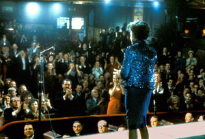 """Judy Garland on stage at the London Palladium when she was filming """"I Could Go on Singing"""" 1962 © 1978 Bob Willoughby  - Image 0733_2219"""