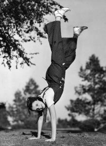 Judy Garland doing daily exercises1936** I.V. - Image 0733_2273