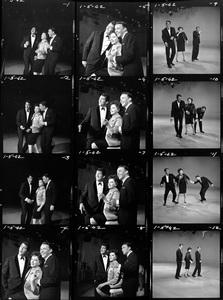 "Judy Garland with Frank Sinatra and Dean Martin on ""The Judy Garland Show""1962Photo by Gabi Rona - Image 0733_2289"
