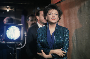 """Judy Garland on stage at the London Palladium when she was filming """"I Could Go On Singing""""1962© 1978 Bob Willoughby - Image 0733_2304"""