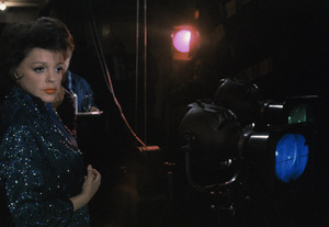 """Judy Garland on stage at the London Palladium when she was filming """"I Could Go On Singing""""1962© 1978 Bob Willoughby - Image 0733_2306"""