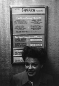 Judy Garland at the Sahara Hotel in Las Vegas, Nevadacirca 1964** I.V. - Image 0733_2313