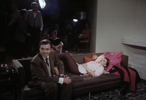 """A Star Is Born""James Mason, director George Cukor, Richard Barstow, Judy Garland1954© 1978 Bob Willoughby - Image 0733_2340"
