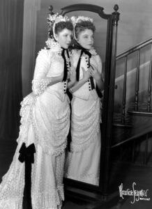 """Lillian Gish with sister Dorothy Gish""""Life With Father,"""" c. 1950. © 1978 Maurice Seymour - Image 0734_0026"""