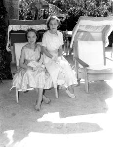 Lillian Gish and Dorothy Gishcirca 1960