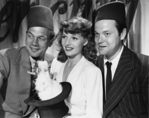 Joseph Cotten, Rita Hayworth and Orson Welles 1944 © 1978 John Engstead - Image 0742_0200