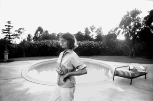 Rita Hayworth at home in Beverly Hills1963 © 1978 Bob Willoughby - Image 0742_2031