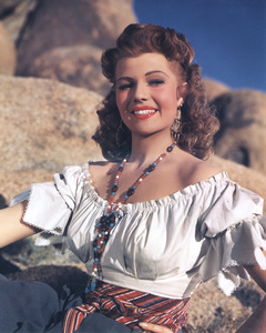 "Rita Hayworth publicity shotfor ""Lovers of Carmen, The""1948 Columbia / **I.V. - Image 0742_2032"