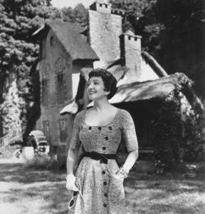 Claudette CobertC. 1952 © 1978 Paul Hesse - Image 0745_0153