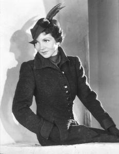 Claudette Colbertcirca 1942 © 1978 James Doolittle / **K.K. - Image 0745_0164