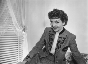 Claudette Colbert, c. 1943. © 1978 Will Connell - Image 0745_0172
