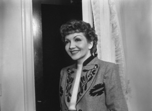 Claudette Colbert, c. 1943. © 1978 Will Connell - Image 0745_0173