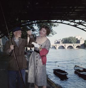 Claudette Colbert in Pariscirca 1950s © 1978 Paul Hesse - Image 0745_0178