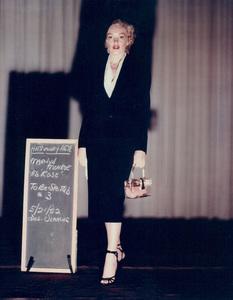 "Marilyn Monroewardrobe test for ""Niagara,""taken in 1952 / 20th Century Fox - Image 0758_0032"
