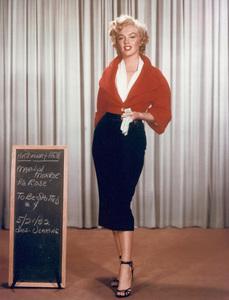 "Marilyn Monroewardrobe test for ""Niagara,""taken in 1952 / 20th Century Fox - Image 0758_0033"
