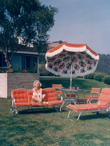 Marilyn Monroeat home in Hollywood, 1952. - Image 0758_0034