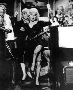 "Marilyn Monroewith Tony Curtis and Jack Lemmon.""Some Like It Hot,"" 1959 / UA - Image 0758_0054"